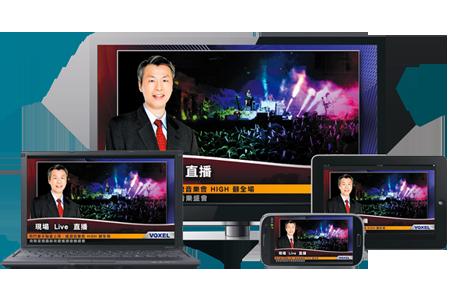 GNET网络视频直播系统