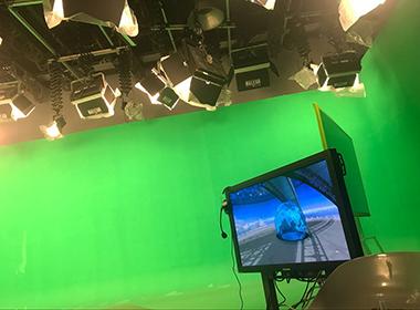 北京气象局虚拟演播室